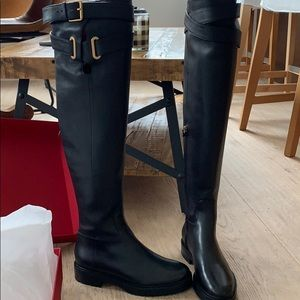NWT Valentino Wrap Over The Knee Boot